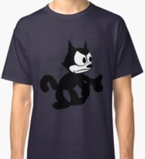 Felix the Cat Fed up Classic T-Shirt