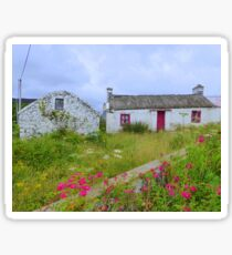 The Summer Blooms Of Rural Ireland Sticker