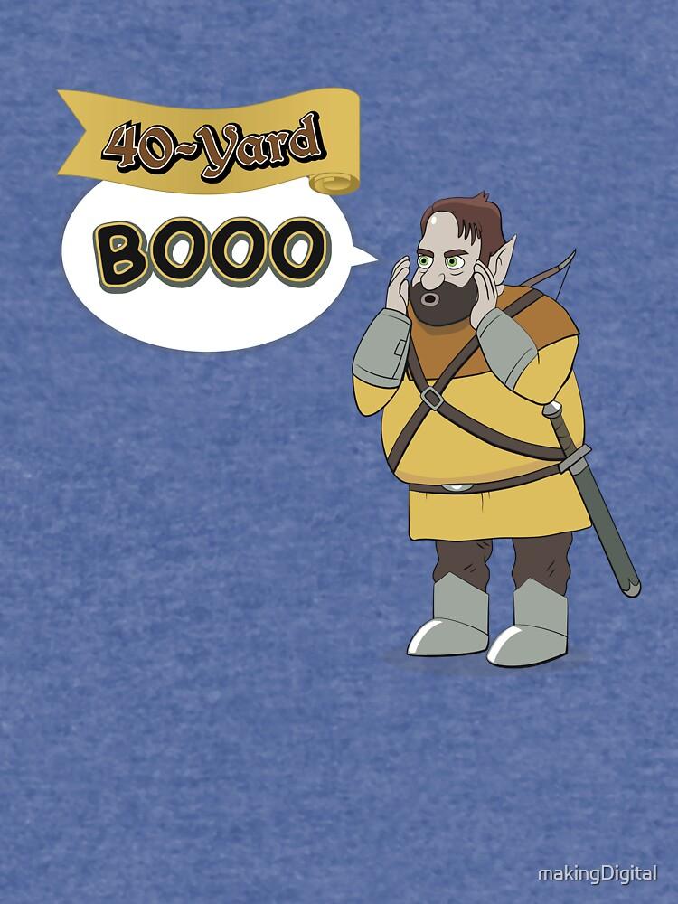 40-Yard Booo by makingDigital
