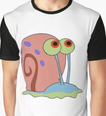 gary the snail Graphic T-Shirt