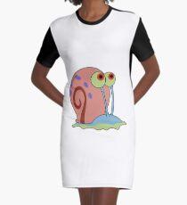 gary the snail Graphic T-Shirt Dress
