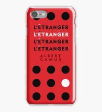 The Stranger by Albert Camus iPhone Case/Skin
