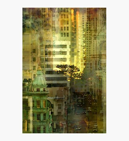 """""""As the sun goes down"""" San Francisco Photographic Print"""