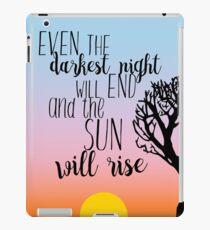 Vinilo o funda para iPad Cita de la salida de Les Miserables