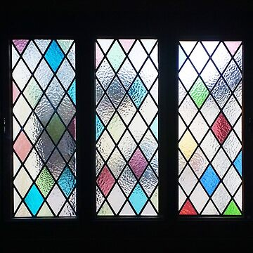 Five Stained Glass Windows out into the Day by darkesknight