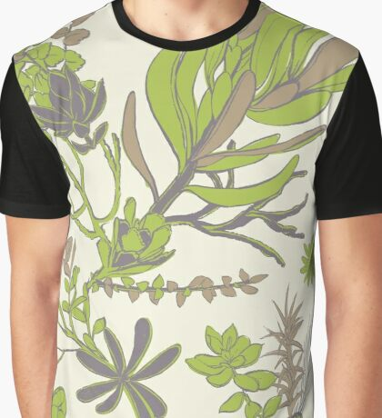 Cradle Mountain Adventure Botanics Graphic T-Shirt