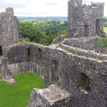 Dinefwr Castle Among the Rolling Welsh Hills  by darkesknight