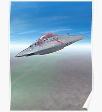The Flying Saucer II Poster