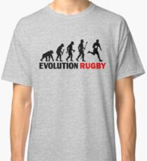 Evolution Of Man and Rugby Funny T Shirt Classic T-Shirt