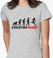 Evolution Of Man and Rugby Funny T Shirt T-Shirt