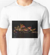 Sydney Vivid 18 Patterns 3 Unisex T-Shirt