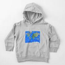 World Map Mandalas Toddler Pullover Hoodie