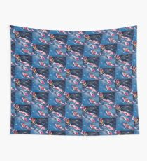 Koi In Motion Wall Tapestry