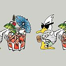 Summer Duck MUG - Duck Logic by Dave-id