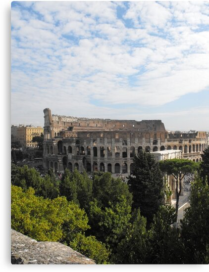 Italy Colosseum by Abbie Macmillan