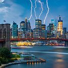 Lightning In Gotham by Randy  LeMoine