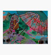 Twilight in the Mermaid Garden Photographic Print