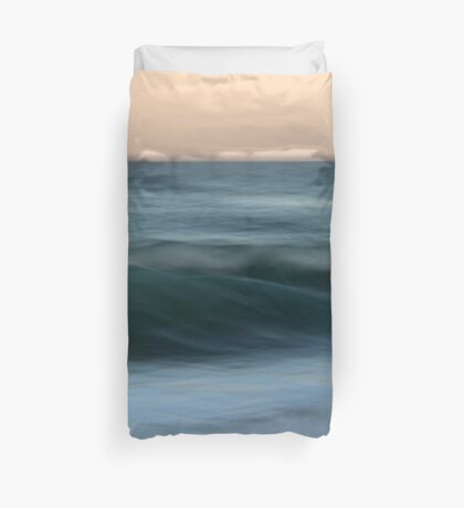 Dialogue with the Sea Duvet Cover