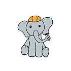 Engineering Elephant by SSDoodles