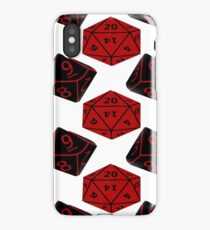 Geeky Dice iPhone Case