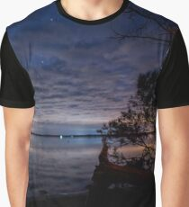 Midnight on the Island Graphic T-Shirt