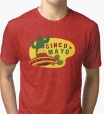 Cinco de Mayo T Shirt Tri-blend T-Shirt