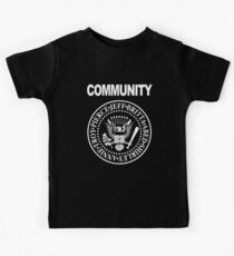 Community - Great Seal of the Study Group Kids Tee