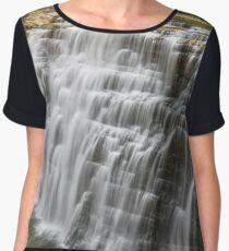 Middle Falls at Letchworth Women's Chiffon Top