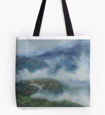 Foggy Morning in Carpathians Tote Bag