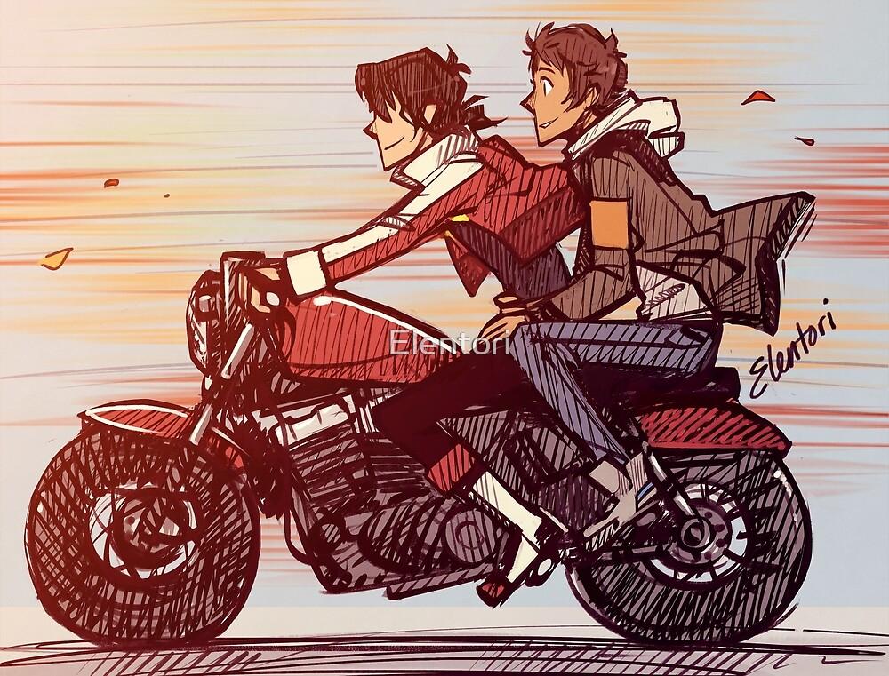 """Biker Klance"" by Elentori | Redbubble"