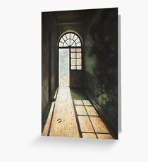 The Way Out Greeting Card