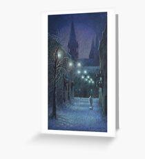 Angel Of Dreams Greeting Card