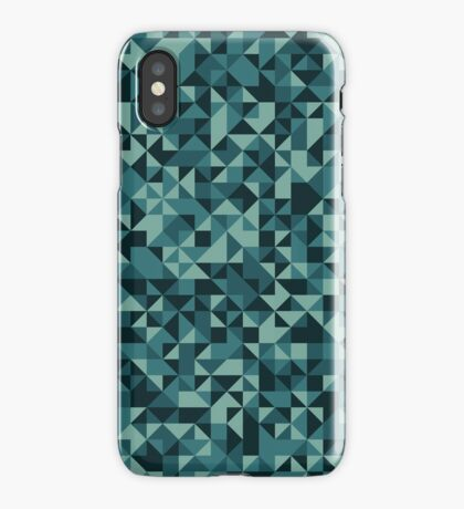 Blue Noise iPhone Case
