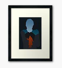 Batty/Deckard Framed Print