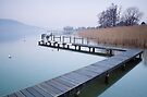 Annecy, the lake just before springtime by Patrick Morand