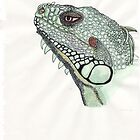 Iguana by MagsWilliamson