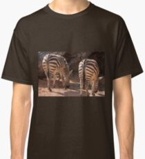 zebra in the forest Classic T-Shirt