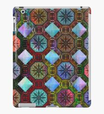 Coloured Chequers iPad Case/Skin