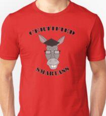 Certified Smartass Unisex T-Shirt