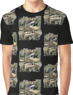 SURF SUNSET Graphic T-Shirt
