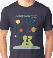 Carl Sagan Alien Love Unisex T-Shirt