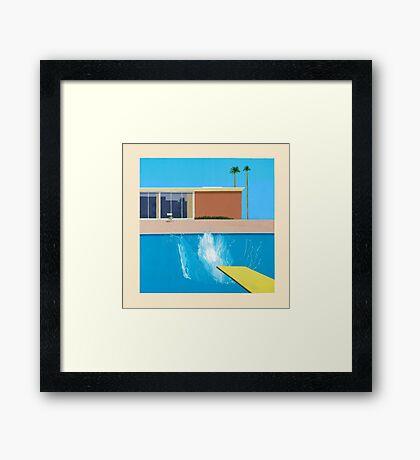 David Hockney A Bigger Splash Framed Print