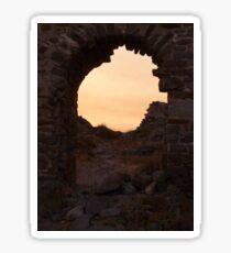 Through The Arch Sticker