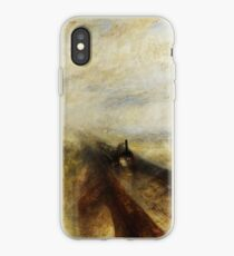 Rain, Steam and Speed by JMW Turner iPhone Case