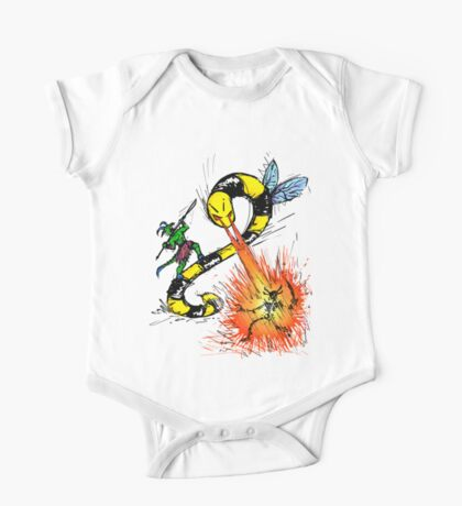 Wrath of the Beeworm! Kids Clothes