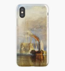 The Fighting Temeraire by JMW Turner iPhone Case