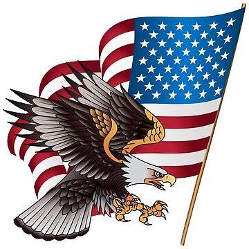 American Eagle Flag by amazingshop