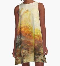 The Slave Ship by JMW Turner A-Line Dress
