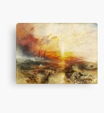 The Slave Ship by JMW Turner Canvas Print