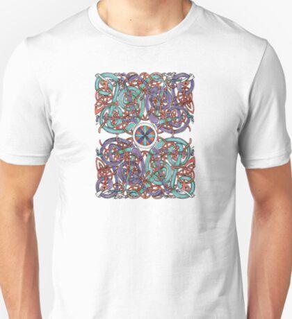 Hounds: Teal & Violet T-Shirt